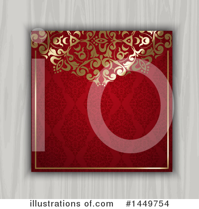 Damask Clipart #1449754 by KJ Pargeter