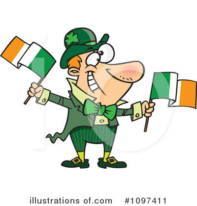 Leprechaun Clipart #1097411 by toonaday