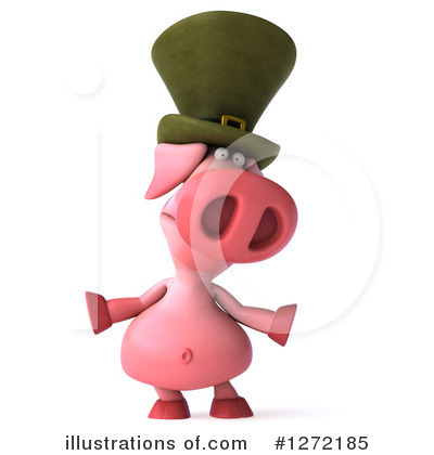 Irish Pig Clipart #1272185 by Julos