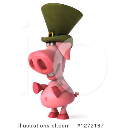 Irish Pig Clipart #1272187 by Julos