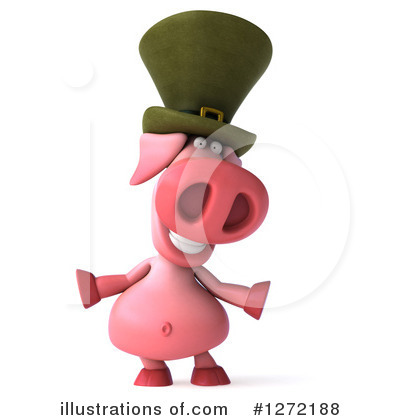 Irish Pig Clipart #1272188 by Julos