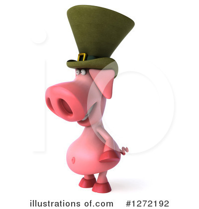 Irish Pig Clipart #1272192 by Julos