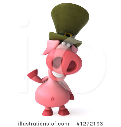 Irish Pig Clipart #1272193 by Julos