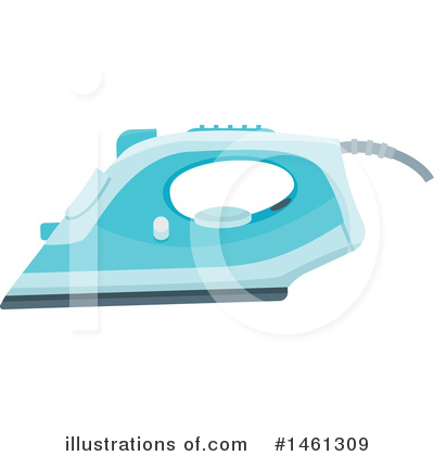Ironing Clipart #1461309 by Vector Tradition SM