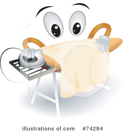 Ironing Clipart #74284 by BNP Design Studio