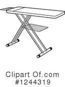 Ironing Clipart #1244319 by Lal Perera