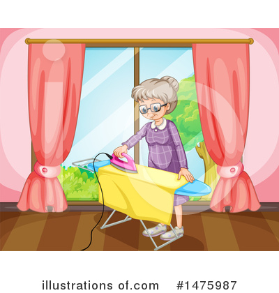 Ironing Clipart #1475987 by Graphics RF