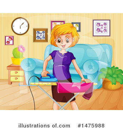 Laundry Clipart #1475988 by Graphics RF