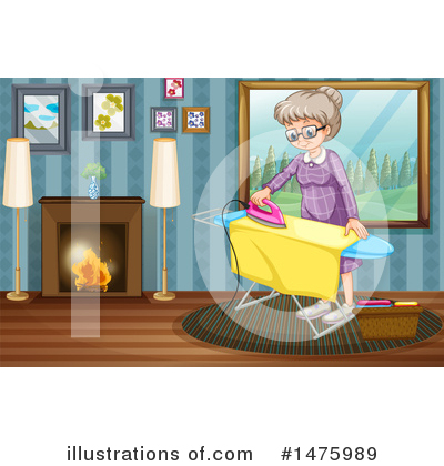 Ironing Clipart #1475989 by Graphics RF
