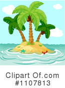 Royalty-Free (RF) Island Clipart Illustration #1107813