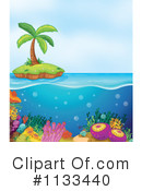 Royalty-Free (RF) island Clipart Illustration #1133440