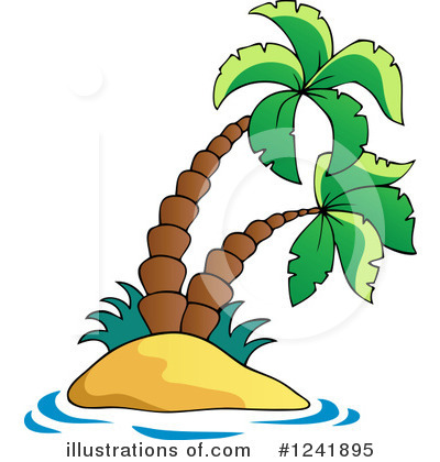Island Clipart #1241895 by visekart
