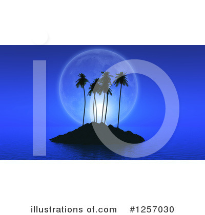 Island Clipart #1257030 by KJ Pargeter