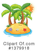 Royalty-Free (RF) Island Clipart Illustration #1379918