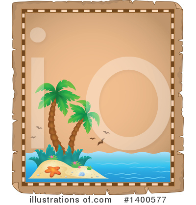 Tropical Island Clipart #1400577 by visekart