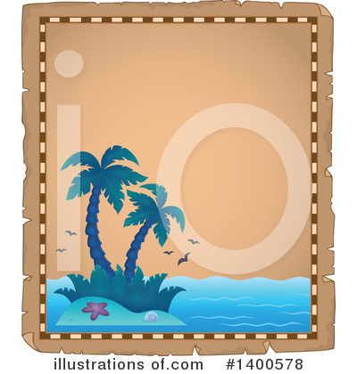 Tropical Island Clipart #1400578 by visekart