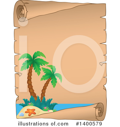 Tropical Island Clipart #1400579 by visekart