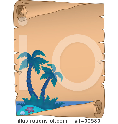 Tropical Island Clipart #1400580 by visekart