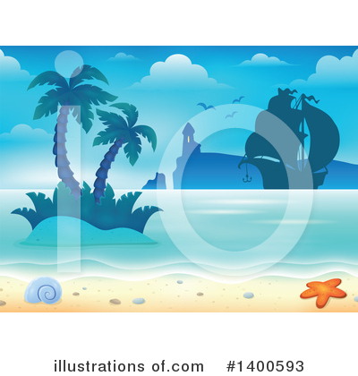 Island Clipart #1400593 by visekart