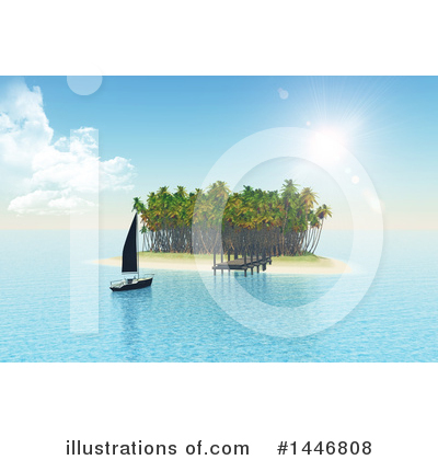 Yacht Clipart #1446808 by KJ Pargeter