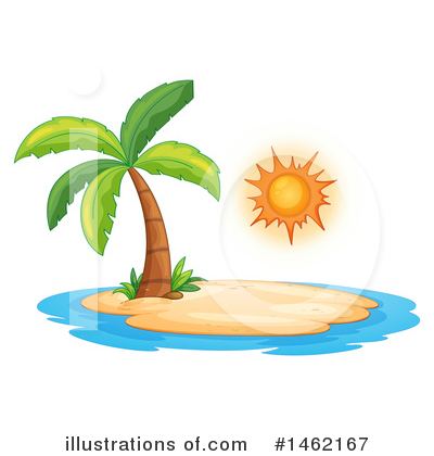 Palm Trees Clipart #1462167 by Graphics RF