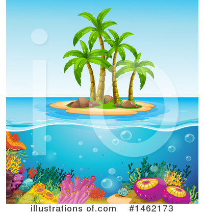 Palm Tree Clipart #1462173 by Graphics RF
