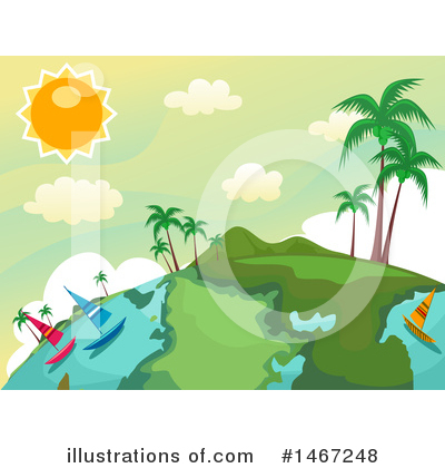 Tropical Clipart #1467248 by BNP Design Studio
