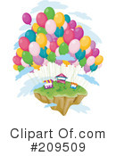 Royalty-Free (RF) island Clipart Illustration #209509