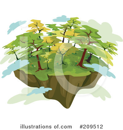 Trees Clipart #209512 by BNP Design Studio