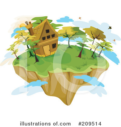 Island Clipart #209514 by BNP Design Studio