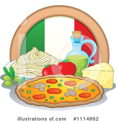Pizza Clipart #1114862 by visekart