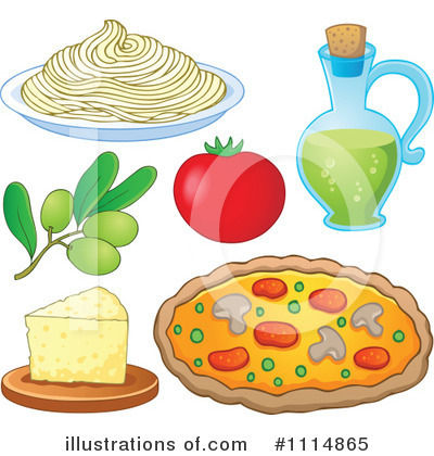 Spaghetti Clipart #1114865 by visekart