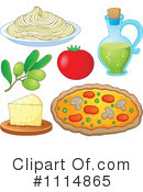 Royalty-Free (RF) italian cuisine Clipart Illustration #1114865