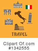 Italy Clipart #1342555 by Vector Tradition SM