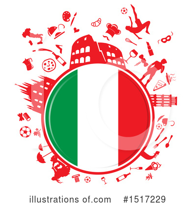 Flag Clipart #1517229 by Domenico Condello