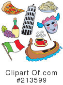 Royalty-Free (RF) Italy Clipart Illustration #213599