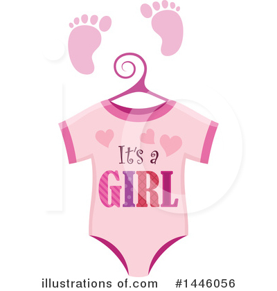 Baby Clipart #1446056 by visekart