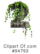 Ivy Numbers Clipart #94793 by chrisroll