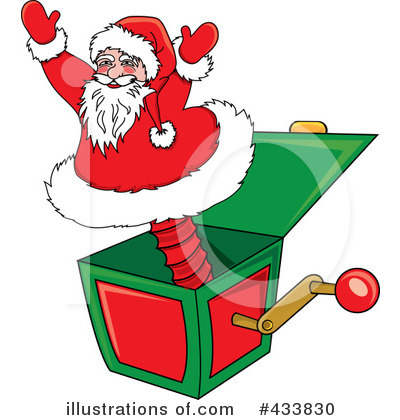 Santa Clipart #433830 by Pams Clipart