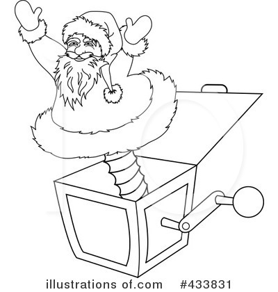 Santa Clipart #433831 by Pams Clipart