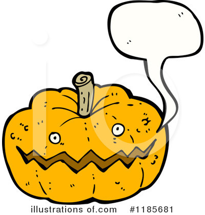 Royalty-Free (RF) Jack-O-Lantern Clipart Illustration by lineartestpilot - Stock Sample #1185681