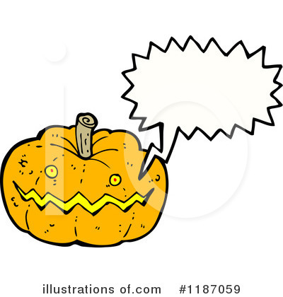 Jack-O-Lantern Clipart #1187059 by lineartestpilot
