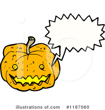 Jack-O-Lantern Clipart #1187060 by lineartestpilot