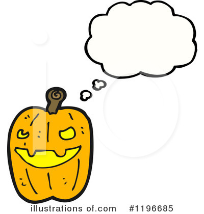Jack-O-Lantern Clipart #1196685 by lineartestpilot