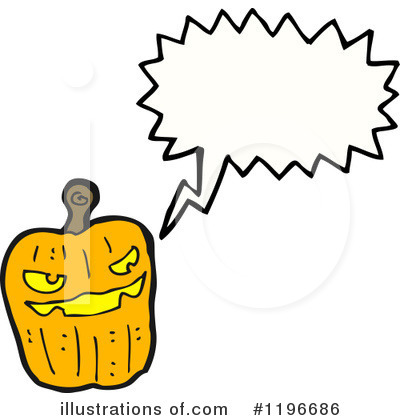 Jack-O-Lantern Clipart #1196686 by lineartestpilot