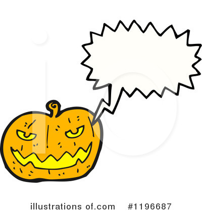 Jack-O-Lantern Clipart #1196687 by lineartestpilot