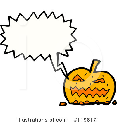 Jack-O-Lantern Clipart #1198171 by lineartestpilot
