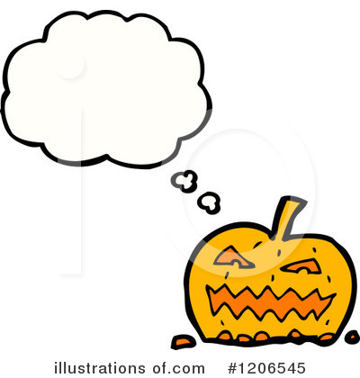 Jack-O-Lantern Clipart #1206545 by lineartestpilot