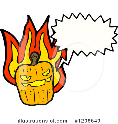 Jack-O-Lantern Clipart #1206649 by lineartestpilot