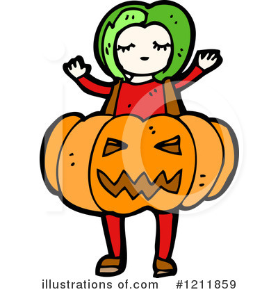 Jack-O-Lantern Clipart #1211859 by lineartestpilot